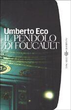 Il pendolo di Foucault - Umberto Eco,  2000,  Bompiani