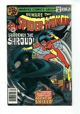 SPIDER-WOMAN # 13 (THE SHROUD app. Cents Issue, APR 1979), FN+