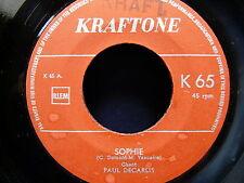 PAUL DECARLIS Sophie / sweet Barbara KRAFTONE K65