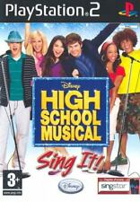 Videogame High School Musical - Sing It! PS2
