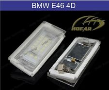 FOR BMW 3 Series E46 318 4D (98-03) License Number Plate LED Light Bulb Lamp Set