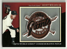 2010 Topps Commemorative Patch Hoyt Wilhelm #88