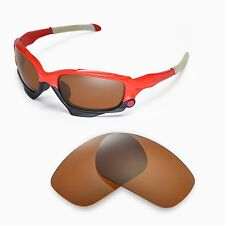 New Walleva Polarized Brown Replacement Lenses For Oakley Jawbone Sunglasses