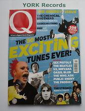 Q MAGAZINE - January 2002 - The Chemical Brothers / Oxide & Neutrino / U2