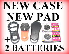 BRAND NEW REPLACEMENT CASE & BUTTON PAD CHRYSLER DODGE PLYMOUTH JEEP REMOTE CASE