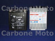 BATTERIA ORIGINALE YUASA YTX7L-BS BETA M4 350 4T '03>'08 ACIDO A CORREDO