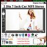 7'' 2 DIN Écran Tactile Autoradio Bluetooth USB/TF/AUX/FM/à Distance MP5 Stéréo