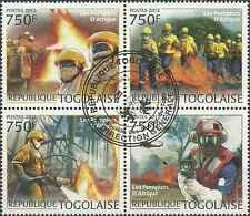 Timbres Pompiers Togo 2872/5 o année 2012 (37693) - cote : 17 €