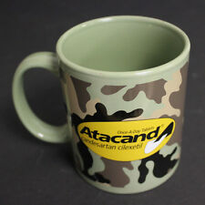 ATACAND Advertisement Cup Mug Camouflage Green Medicine