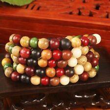 Bracelet Tibetan Buddhist Prayer Beads Redwood Charm Bracelet Wooden Rosary