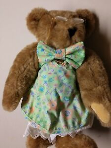 Authentic Vermont Teddy Bear 100% Natural Wool Plush Handmade in Vermont