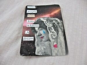 LOST LOVE ACEO ATC Art Card Collage Original LOVE IS FOREVER A DREAM ALTERED ART