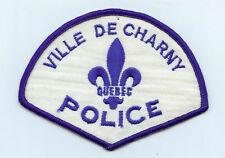 Ville de Charny Police, Quebec, Canada HTF Vintage Uniform/Shoulder Patch