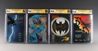 Dark Knight Returns #1-4 CGC 9.4+ All Autographed by Frank Miller