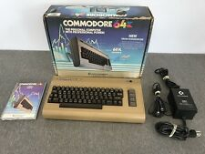 NICE Vintage Early Commodore 64 Breadbox Computer | Tested & Working In Box