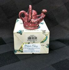 New in Box Small Watering Can by Blue Sky Clayworks Free Shipping