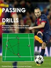 Football Soccer Coach 50 Youth Academy Passing Drills Uefa A B Licence