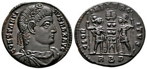 CONSTANTINE THE GREAT (330 AD) Scarce Follis. Rome #CA 7679
