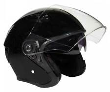 Fulmer Powersports 360 Forge Open Face Sunshield Motorcycle Helmet - Black