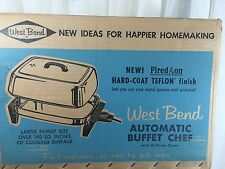 VINTAGE 1960s WEST BEND Automatic Buffet Chef - roaster skillet server