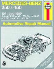 Reparaturhandbuch Mercedes 350 SL/450 SL & SLC W107
