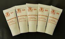 5x 3ml ARBONNE RE9 Advanced Extra Moisture Restorative Cream SPF20, Travel Size