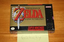 Legend of Zelda: A Link to the Past (Super Nintendo SNES) NEW SEALED FIRST PRINT