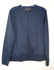 NWT Under Armour Ladies Storm SweaterFleece Full Zip Bomber Jacket, Blue, XL