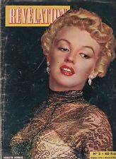 Révélation  Marylin Monroe 1954