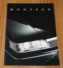 Catalogue AUSTIN MONTEGO de 1989