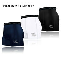 Men's Compression Baselayer Boxer Sports Shorts Brief Skin Tight Fit Gym Pants