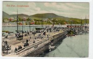 OLD PIER, CAMPBELTOWN: Argyll postcard (C61155)