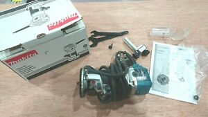 Makita RT0700CX4 1/4 Router Trimmer 240V, Lightly Used, With Assorted Cutters
