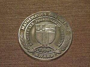 VINTAGE BALFOUR RENSSELAER POLYTECHNIC INSTITUTE 1824 RPI MATH & SCIENCE MEDAL