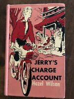 Jerry's Charge Account by Hazel Wilson Charles Greer (ExLib, NoDust) 1960