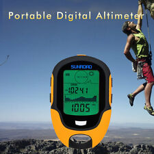 Multifunctional FR500 Portable Digital Altimeter Outdoor Use Barometer Device EW