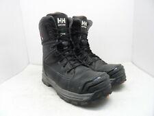 "HELLY HANSEN Men's 8"" Composite Toe Comp Plate Work Boot HHF182004 Black 12M"