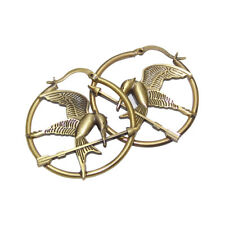 "The Hunger Games Movie Hoop Earings ""Mockingjay"""