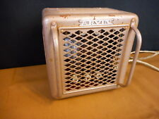 Vintage Arvin Electric Space Room Heater Tan for parts not working
