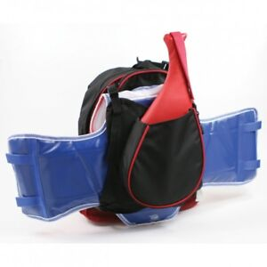 Sparring Gear Bag Taekwondo Karate Martial Arts Equipment Backpack-BLACK New