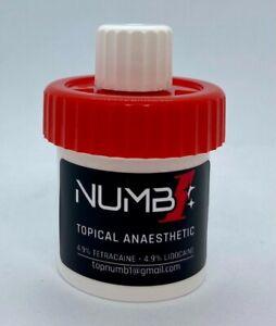 Numb1 Tattoo numbing gel 20g Aussie made