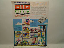 1960'S Continental'S Big City Ho Scale Modern Architecture Product Sheet Reprod