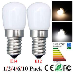 E14/E12 Dimmable LED Fridge Light Bulb 6000-6500K Refrigerator Corn Bulb Lamps