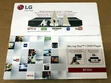New LG BP350 Blu-ray Player with Streaming Services and Built-in Wi-Fi