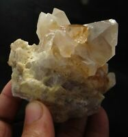 Natural Topaz Crystals Quartz,W/Mica 345 Gram  Mineral Specimen Skardu Pakistan