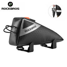 ROCKBROS Cycling Bike Top Tube Frame Triathlon Bike Black Triangle Bag-Unicorn