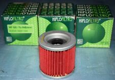 3 filtres à huile Hiflofiltro HF125 KAWASAKI Z 250 A / B EX GPZ KZ 305