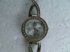 Women's Spirit Twist Stone-Set Bracelet Quartz Watch (Good Condition)