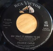Frankie Carle 45 Oh! What It Seemed To Be / The Big Bird