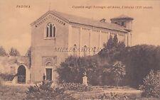 PADOVA - Cappella degli Scrovegni all'Arena - L'esterno (XIII secolo)